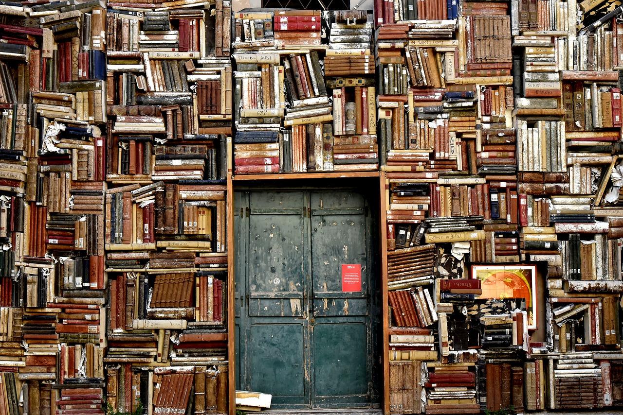 Parete di libri