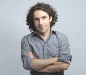 Lo scrittore Marco Balzano.