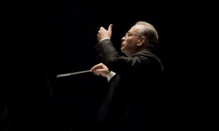 Franco Cesarini dirige la Civica Filarmonica di Lugano nel concerto dell'8 dicembre 2018
