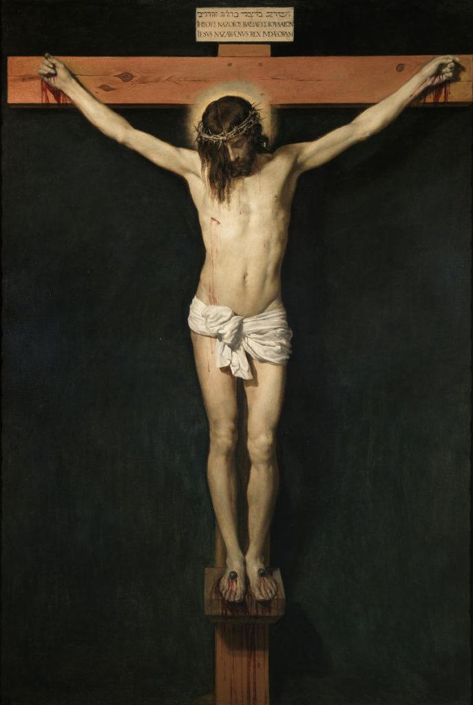 Diego Velázquez, Cristo crocifisso, olio su tela, 1631 ca.