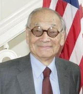 L'architetto sino-americano Ieoh Ming Pei
