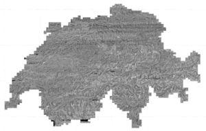Mappa fotografica della Svizzera del 1946