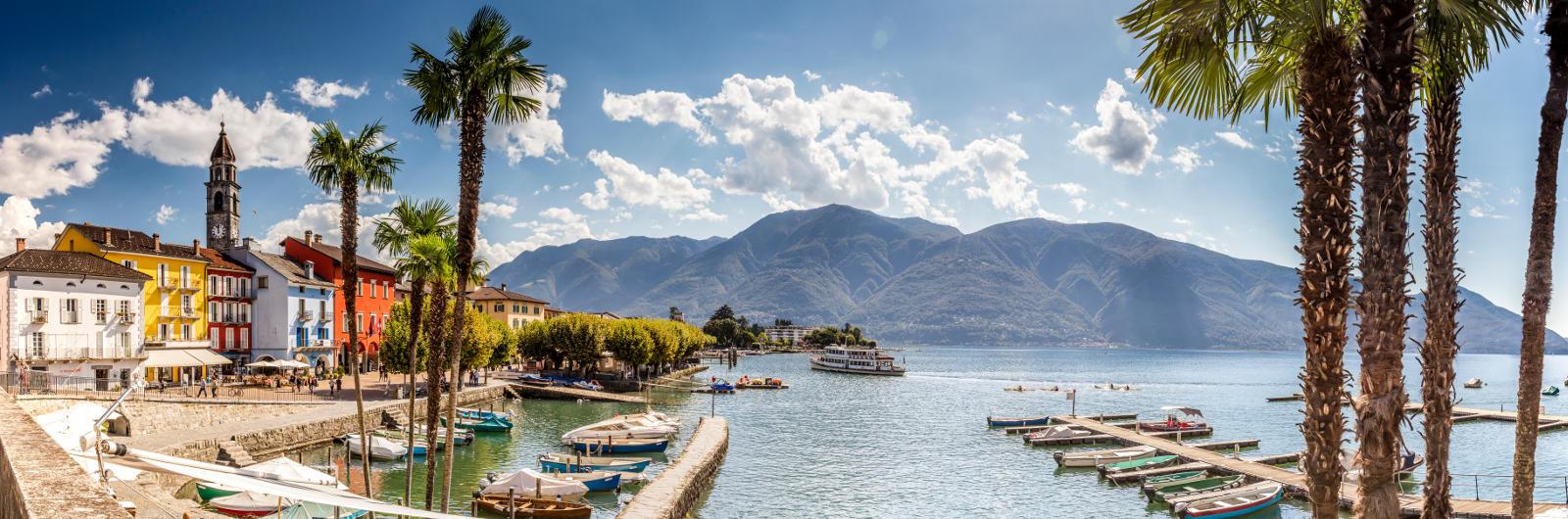 Ascona - Lungolago - Panorama
