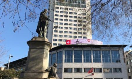Il consolato generale di Svizzera a Milano