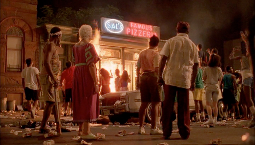 """Scena dal film di Spike Lee """"Do The Right Thing"""" (1989)"""