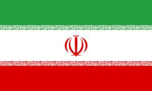 Bandiera ufficiale dell'Iran