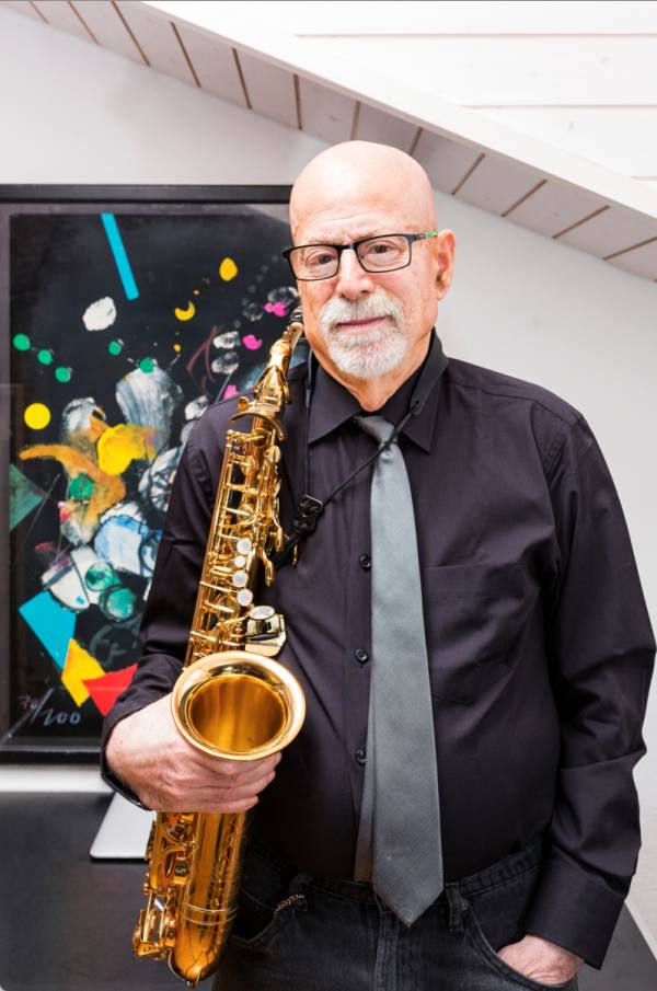 Il sassofonista Iwan Roth