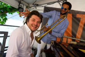 JazzAscona 2019 - Frank Salis e Michael Watson