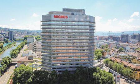 La sede centrale della cooperativa Migros a Zurigo