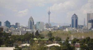 Tehran - Veduta della skyline - maggio 2007