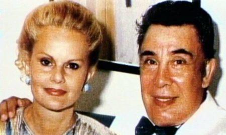 Tommaso Buscetta con la moglie