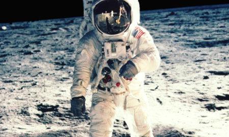 Apollo 11 - L'astronauta Buzz Aldrin sulla Luna