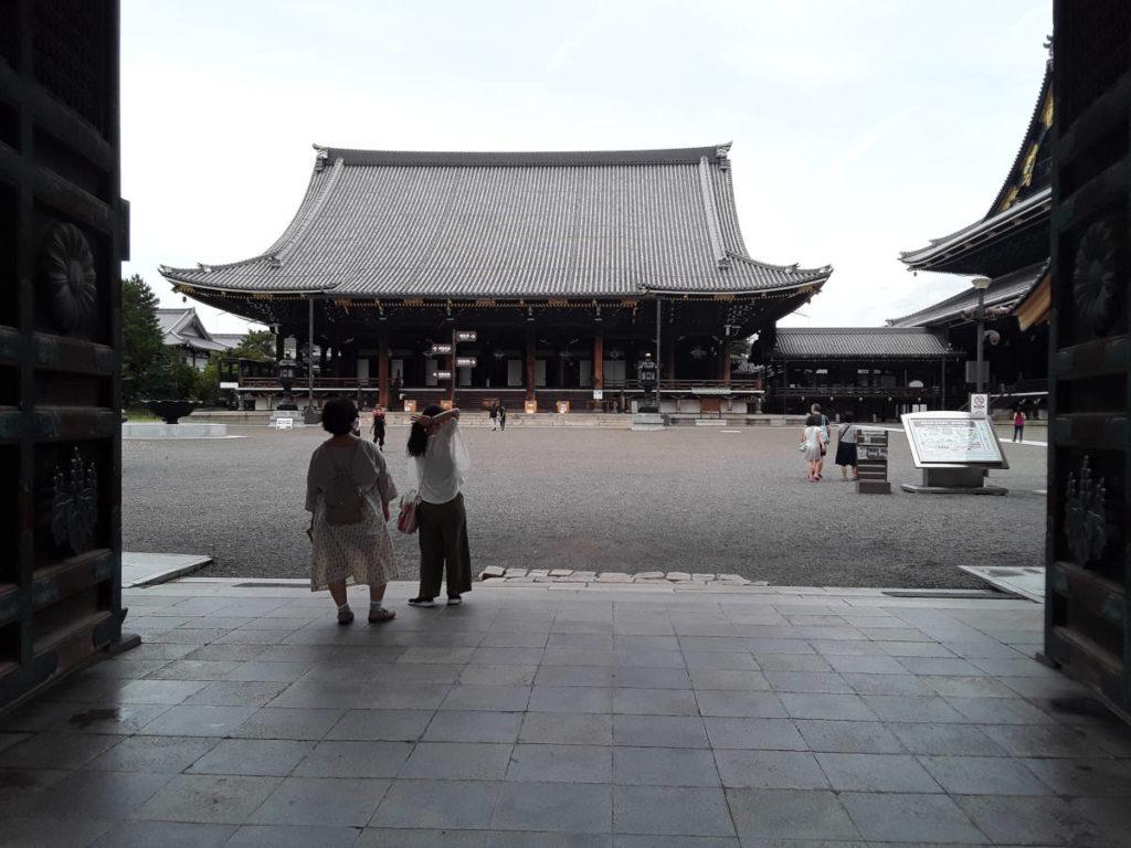 Kyoto - Tempio buddista di Higashi hongan-ji