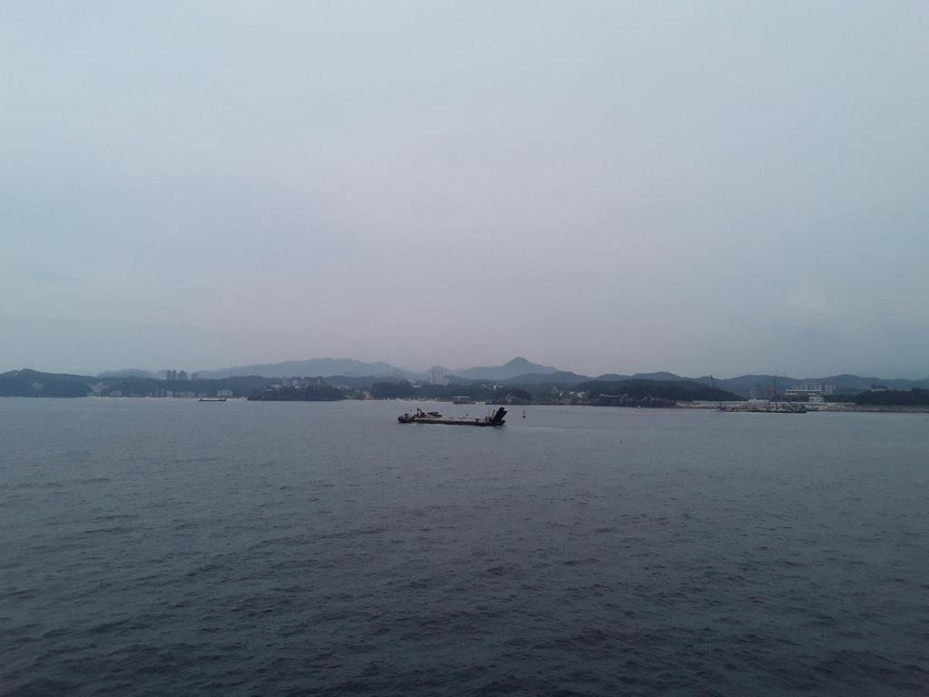 Giappone - In avvicinamento alla Corea del Sud