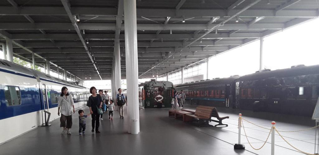 Kyoto - Museo ferroviario
