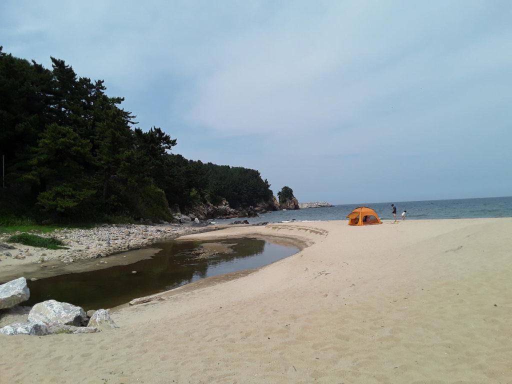 Giappone - Spiaggia di Donghae