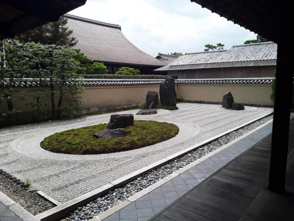 Kyoto - Giardino zen del tempio Ryogen-in