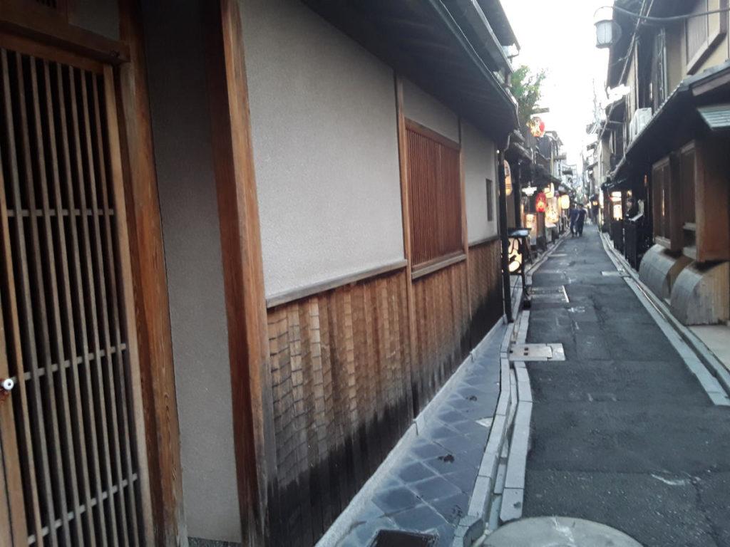 Kyoto - L'antico vicolo Ponto-cho