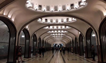 Mosca - Stazione del metro Maiakovskaia