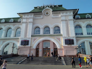 Transiberiana - Stazione di Vladivostok