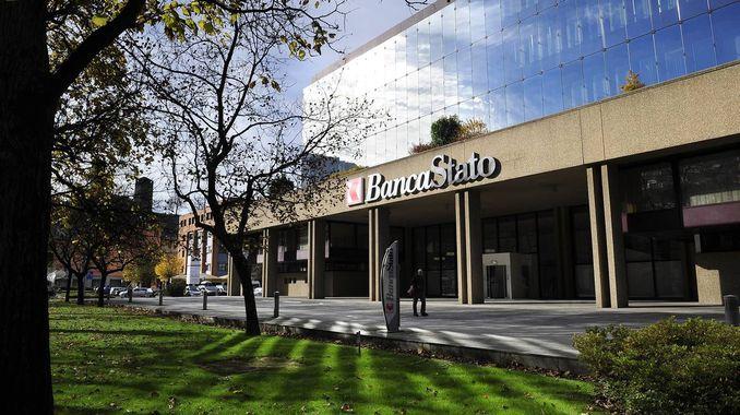La sede di BancaStato a Bellinzona