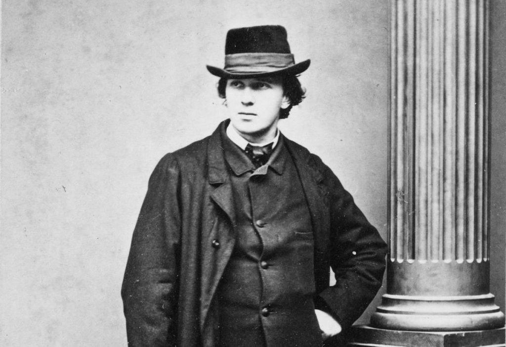 Carl Spitteler in un ritratto del 1865