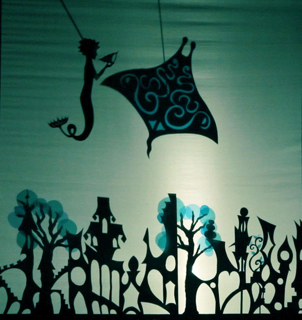 Il castello incantato 2019 - Poseidonia - ombre