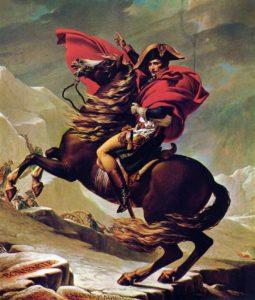 Jacques-Louis David (1748–1825), «Napoleone attraversa il passo del Gran San Bernardo»