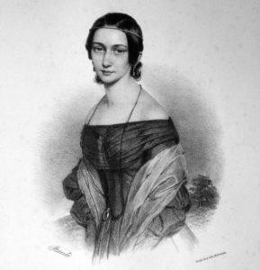 Clara Wieck Schumann nel 1838