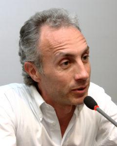 Il giornalista Marco Travaglio.
