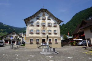 Altes Rathaus a Gersau, Canton Svitto