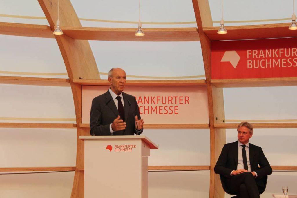 Frankfurter Buchmesse 2019 - Conferenza stampa di apertura - Francis Gurry