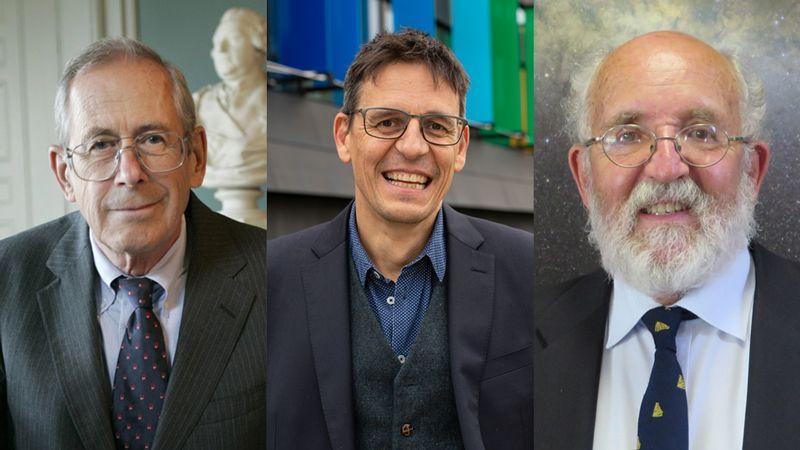 Nobel per la Fisica 2019 a James Peebles, Didier Queloz e Michel Mayor