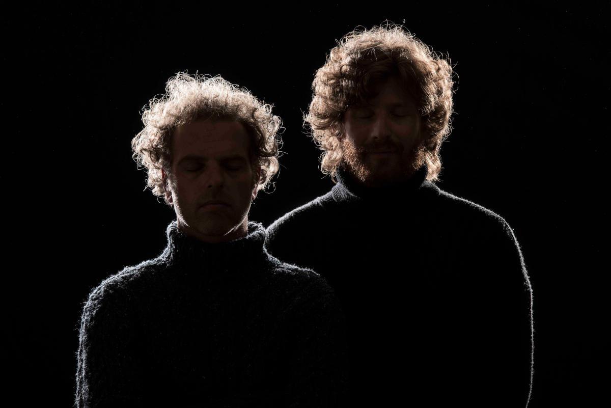 Suoni al buio - Sandro Schneebeli e Max Pizio (Foto: Marco D'Anna)