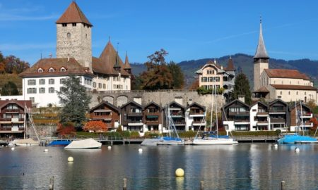 Castello di Spiez nell'Oberland bernese