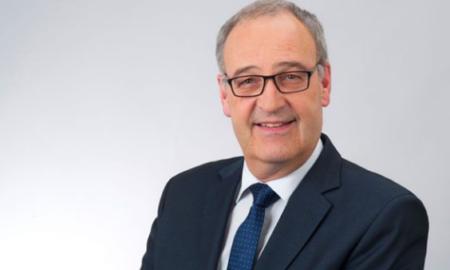 Il consigliere federale Guy Parmelin in una foto del 2018