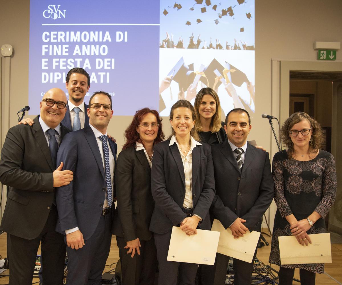 Centro di Studi bancari Villa Negroni - I migliori diplomati 2019