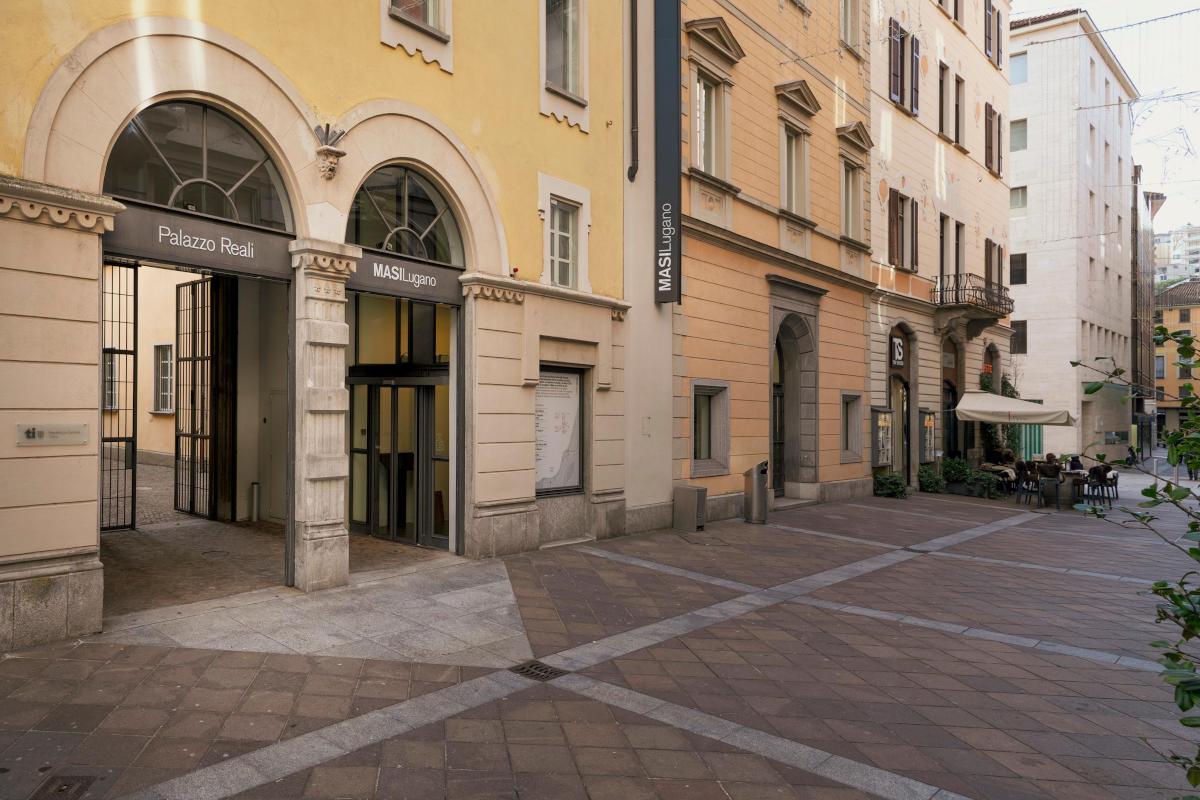 MASI - Museo d'arte della Svizzera italiana - Esterno di Palazzo Reali