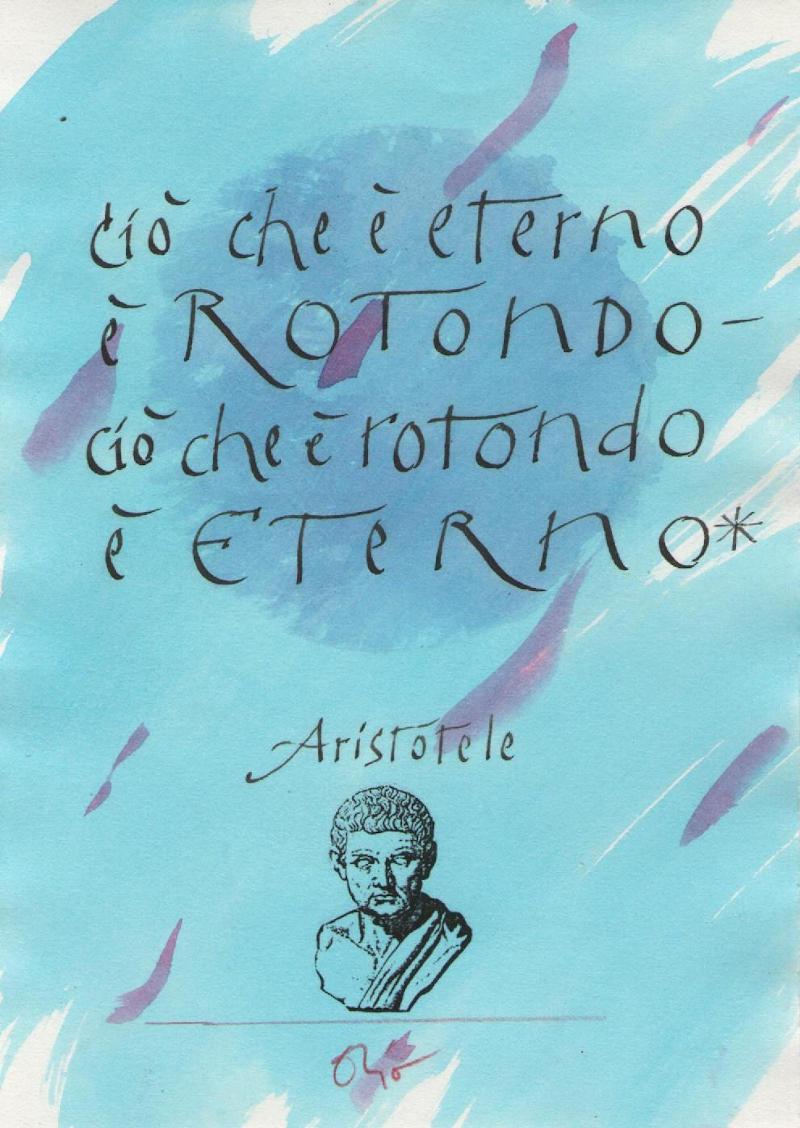 Orio Galli - Galligrafia - Aristotele