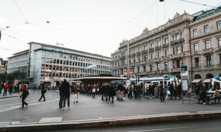 La Paradeplatz a Zurigo