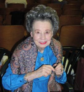 """Diana Serra Cary, in arte """"Baby Peggy"""", in un'immagine del 2012."""