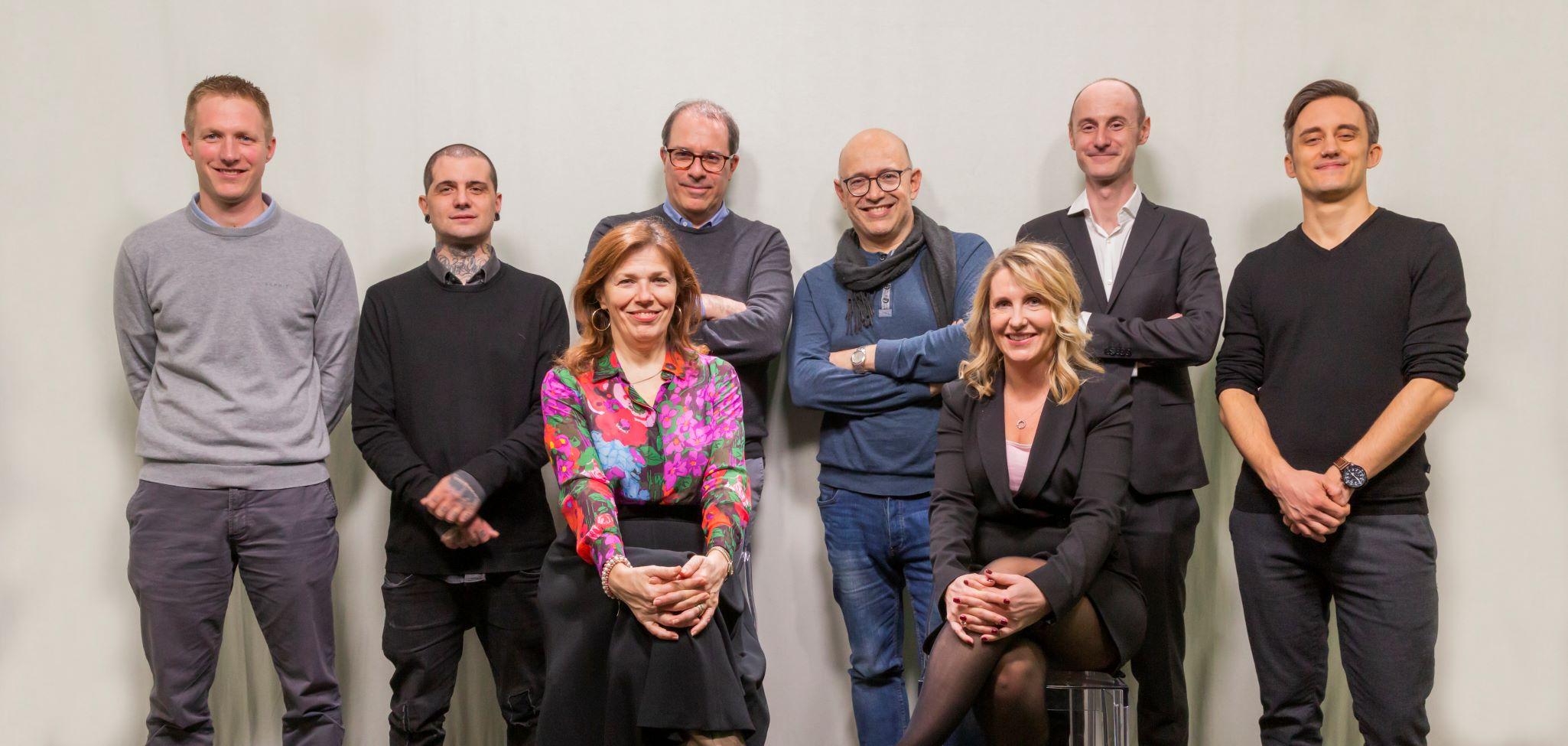 Il team del nuovo Dipartimento Cultura e Società della RSI