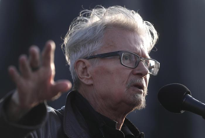 Lo scrittore e attivista russo Eduard Limonov