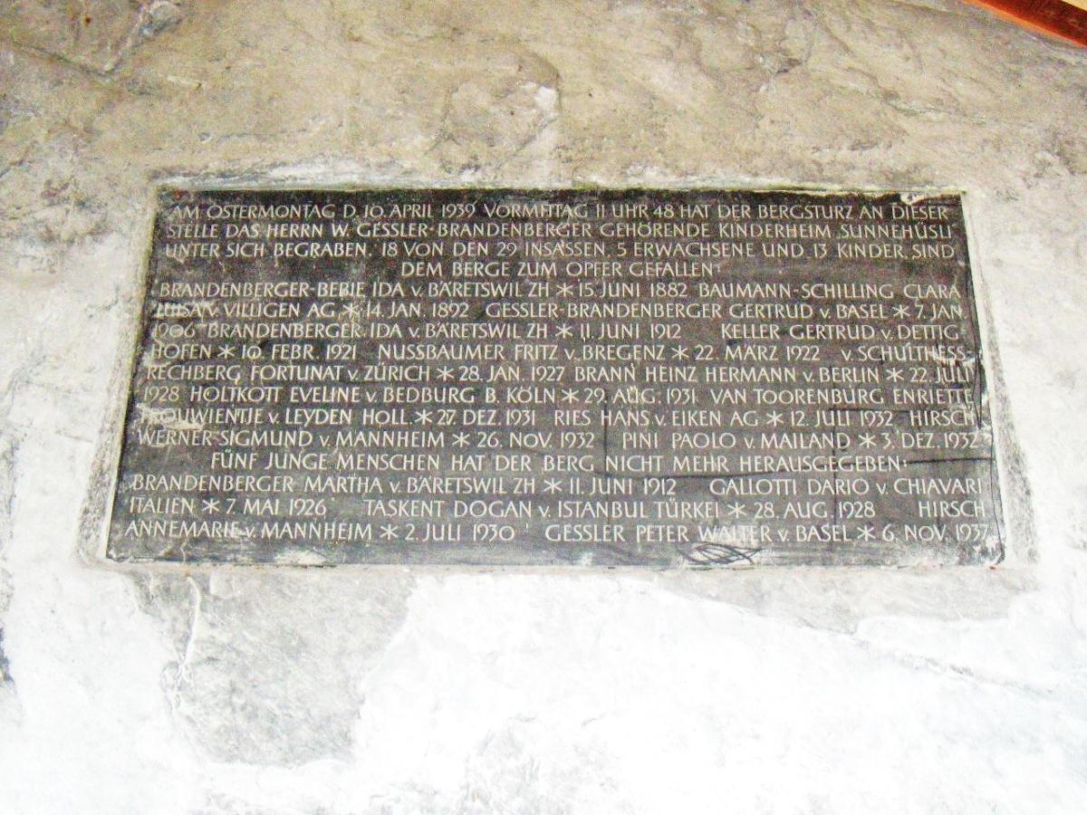 Flims - Memoriale