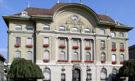 La sede della Banca nazionale svizzera a Berna in Bundesplatz