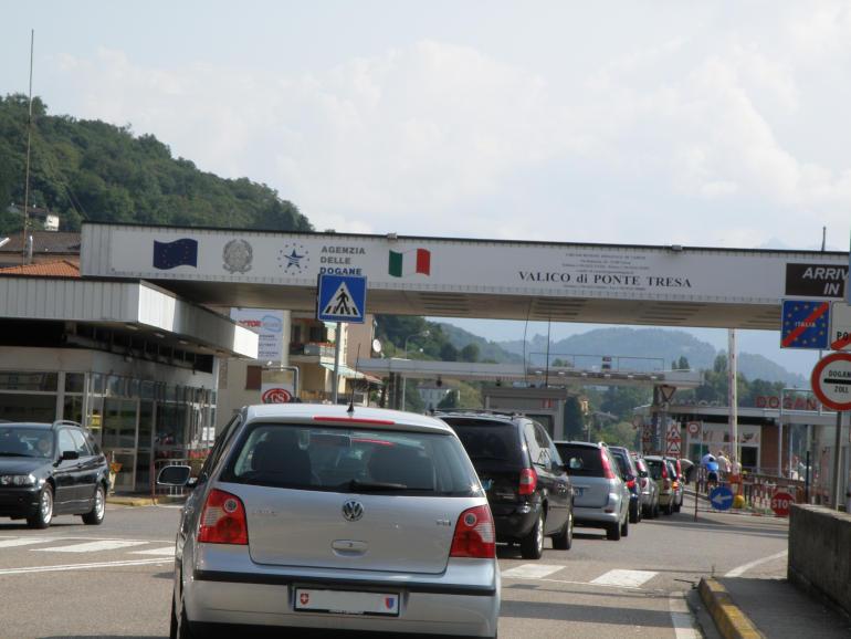 Il valido doganale di Ponte Tresa