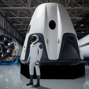 La tuta spaziale di SpaceX
