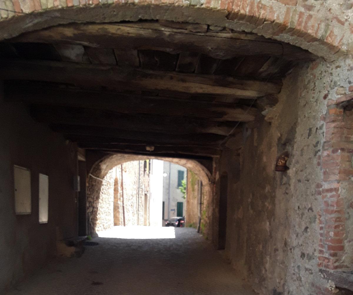 Breganzona - Vicolo nel vecchio nucleo