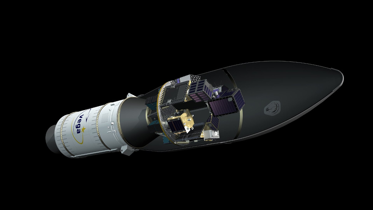 Razzo ESA Vega VV16 con SSMS e SAT-AIS