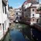 Venezia - Suggestivo scorcio con sul fondo la scuola di San Giorgio degli Schiavoni